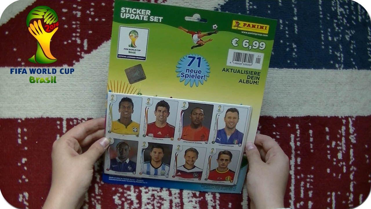 PANINI WM 2014 Brasil-Update Set