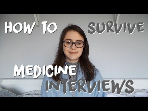 MEDICINE INTERVIEWS - How To Prepare, Advice For In The Interview And My Experience | AD