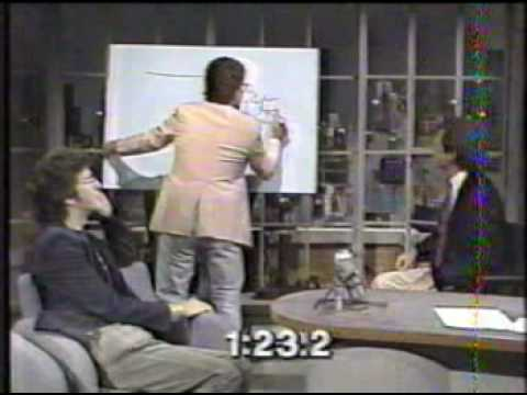 Al Franken On Letterman YouTube - Al franken draws us map