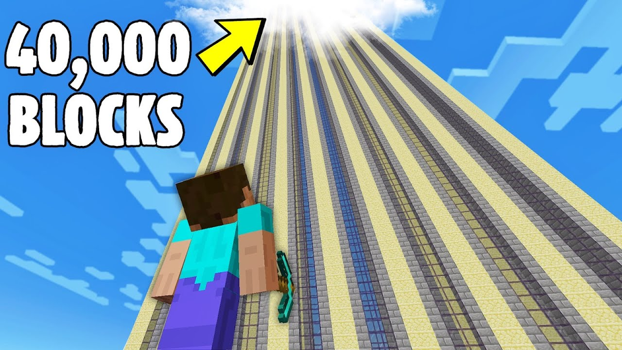 Building The World's Tallest Minecraft City in 24 Hours