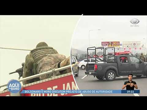 Atiradores podem ter alvejado sequestrador na ponte Rio-Niterói