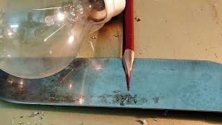 cách khắc chữ trên inox, kim loại,dao nhọn, how to engrave metal