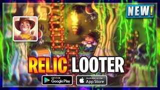 👑RELIC LOOTER ANDROID/IOS HD GAMEPLAY | NEW ANDROID GAME | NOOBTHEDUDE GAMING CHANNEL