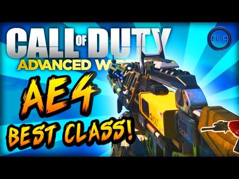 "Advanced Warfare BEST CLASS SETUP - ""AE4"" (NEW DLC GUN) - Call of Duty: Advanced Warfare"