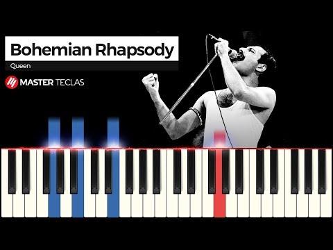💎 Bohemian Rhapsody- Queen  Piano Tutorial 💎