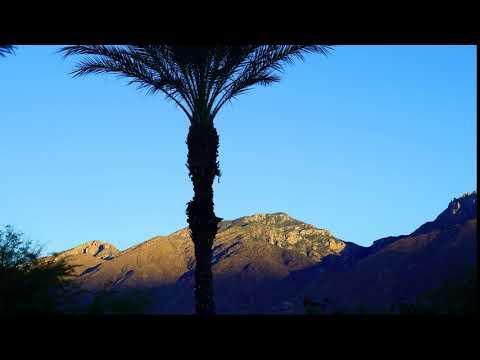 Santa Catalina Mountains Time Lapse Sunrise Tucson Arizona