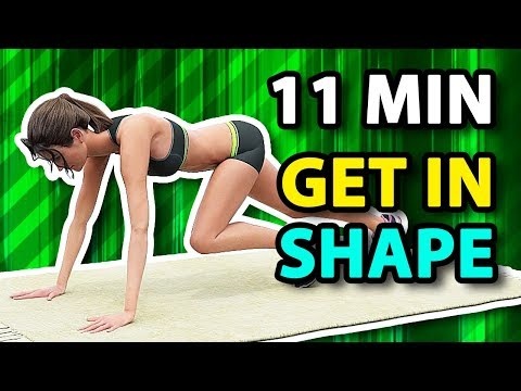 11 Min Best Workout To Get In Shape Fast