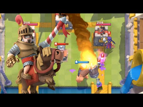 Clash Royale - Beating the ODDS! (High Level Gameplay)