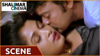 Chiranjeevi & Ramya Krishnan Love Scene    Iddaru Mitrulu Movie
