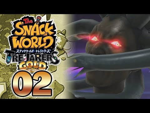 SNACK WORLD TREJARERS GOLD #02 - LE PREMIER BOSS EST ABUSE !