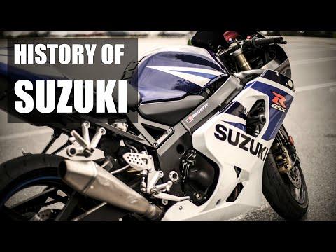 Suzuki Motorcycles - History