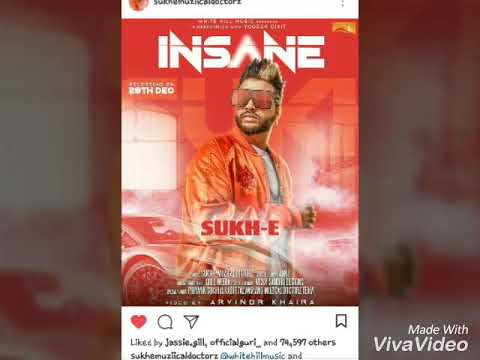 INSANE BY SUKHE MUZICAL DOCTORZ FEAT JAANI...