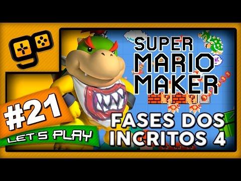 Let's Play: Super Mario Maker - Parte 21 - Fases dos Inscritos 4