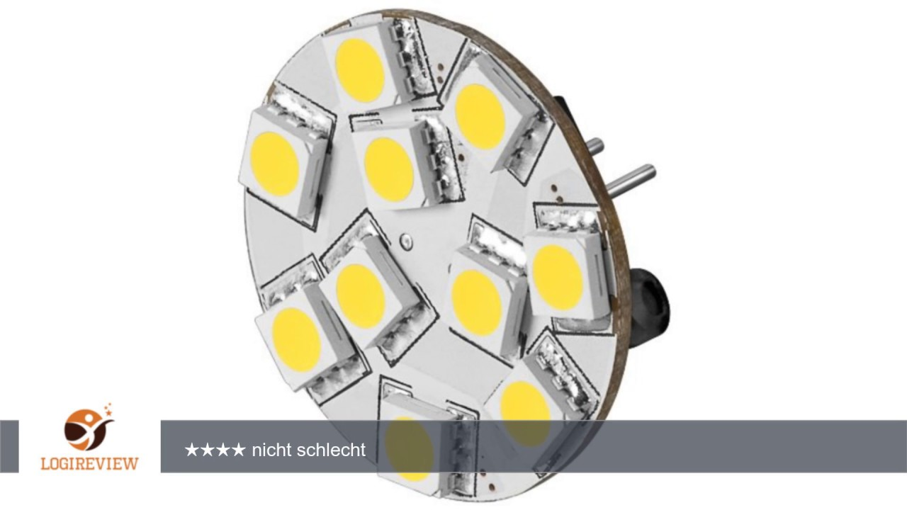 Led Chip Fur G4 Lampensockel Mit 10 Smd Leds Warmweiss 140 Lm 2 4w