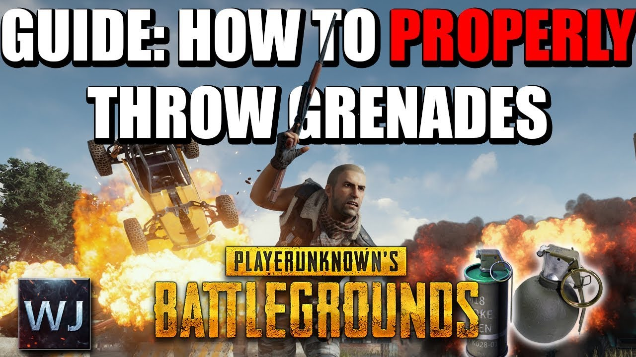 Guide How To Properly Throw Grenades In Playerunknowns