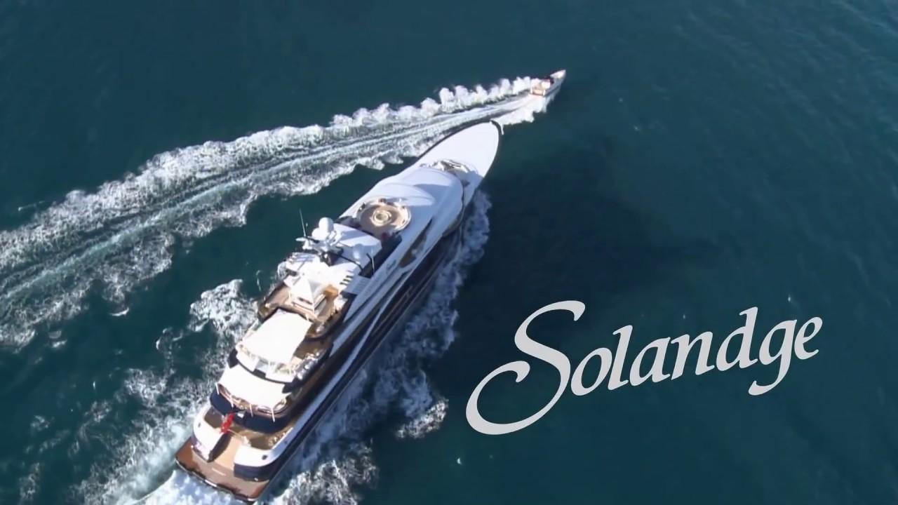 Luxury Lurssen Motor Yacht Solandge For Charter