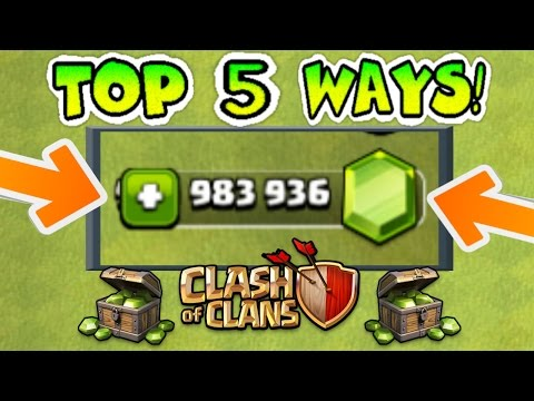 Thumbnail: TOP 5 WAYS TO GET FREE GEMS IN CLASH OF CLANS LEGALLY (NO HACKS)! | 5 AWESOME STRATEGIES!!