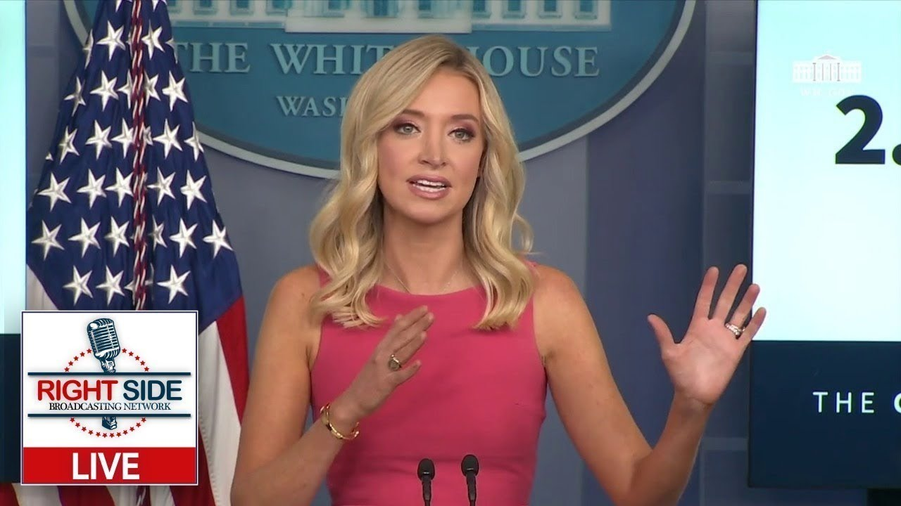 Watch Live: White House Briefing with Press Secretary Kayleigh McEnany 8/10/20