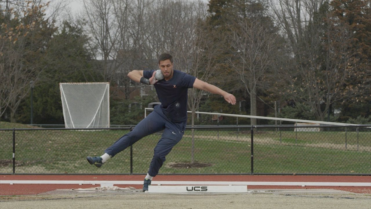 Track And Field Shot Put Youtube