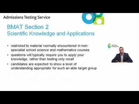 Videos BMAT Cambridge Assessment Admissions Testing