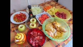 Много блюд в сковороде ВОК от iCook. Мой первый кулинарный видеоопыт