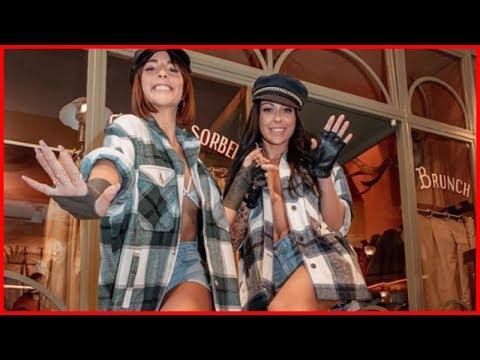 Shanna Kress Et Rym Renom Superbes: Les Deux Copines Adoptent Un Look Relax Et Sexy !