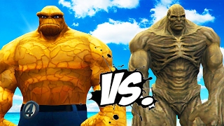 Download Video THE THING VS ABOMINATION - EPIC BATTLE MP3 3GP MP4