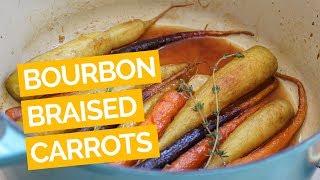 Citrus-bourbon Braised Carrot Recipe