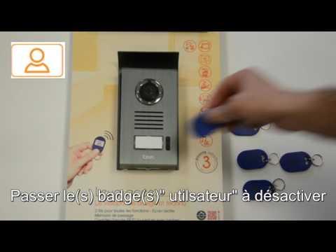 Programmer des badges sur le kit note pro doovi for Comment ouvrir une porte de garage automatique