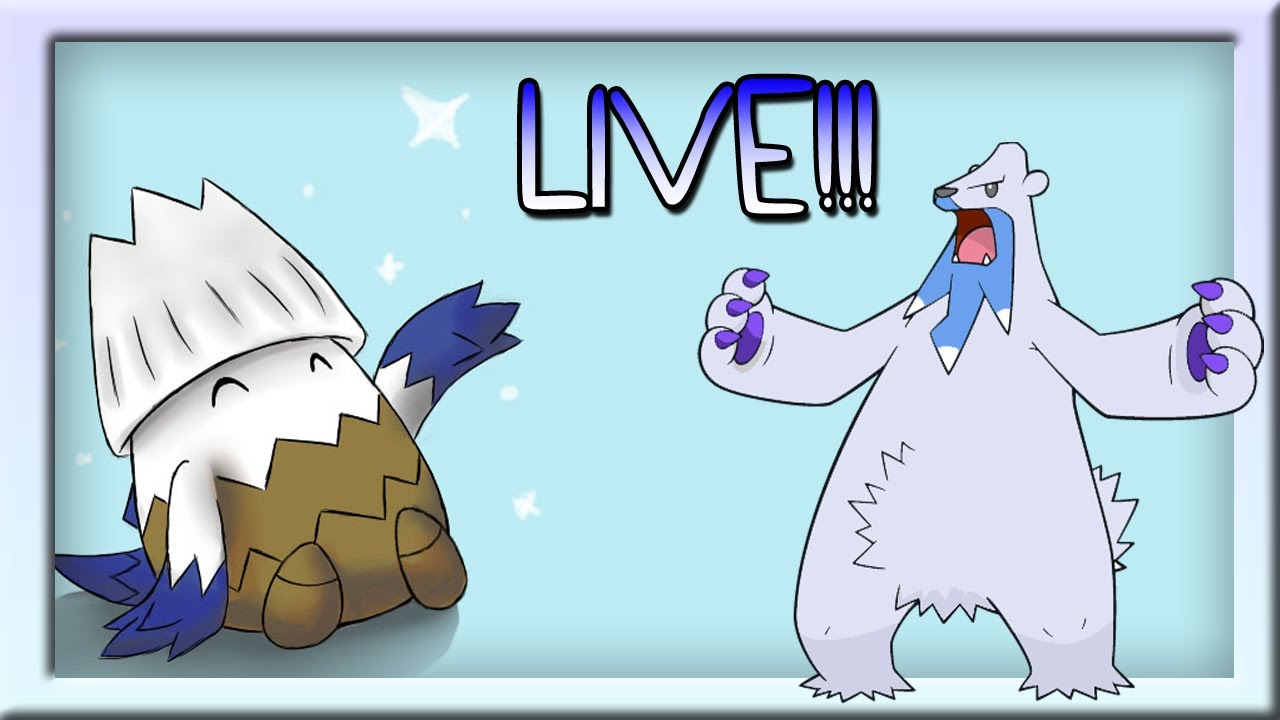 LIVE!!! Shiny Beartic and Shiny Snover!!!! Pokemon X and Y ...
