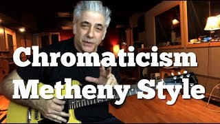 Adding Chromaticism To Your Soloing | Pat Metheny Style