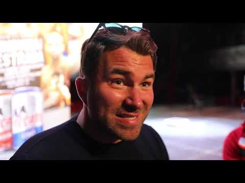 EDDIE HEARN BEGS BIG BABY MILLER TO COME CLEAN + TYSON FURY TOP RANK FIGHT IS A JOKE