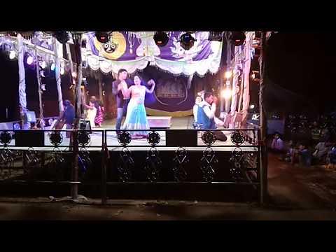 Odia Jatra Milan Gananatya Romantic Dance- Janha re lekhichi naa