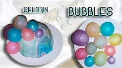 Edible Gelatin Bubbles D.I.Y