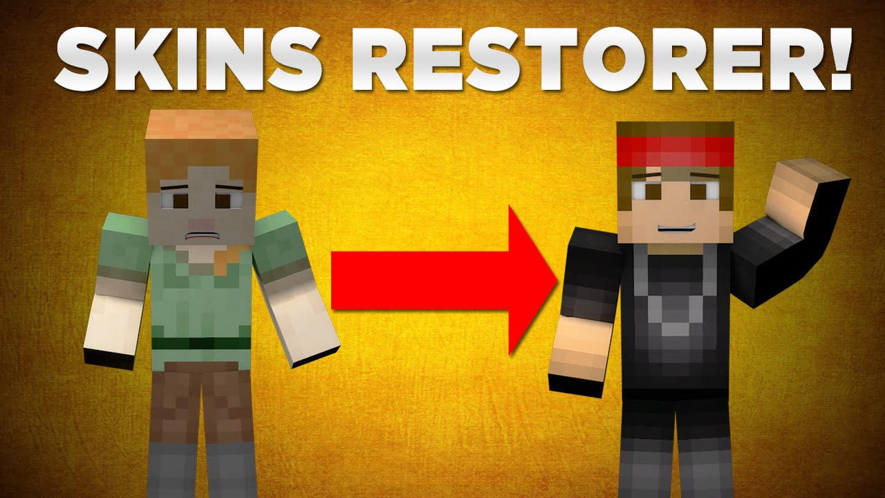 How To Fix And Restore Your Minecraft Skin For Servers QUICK - Skins fur minecraft 1 8 9