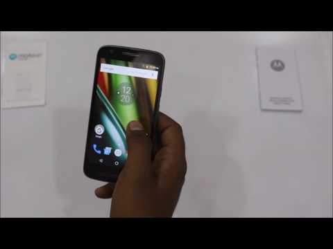 How To Enable Battery Percentage on Motorola Moto E3 Power