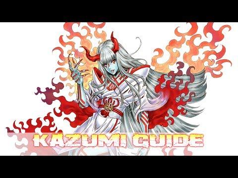 TEKKEN 7   Character Guide : Kazumi Mishima『 鉄拳7FR 』