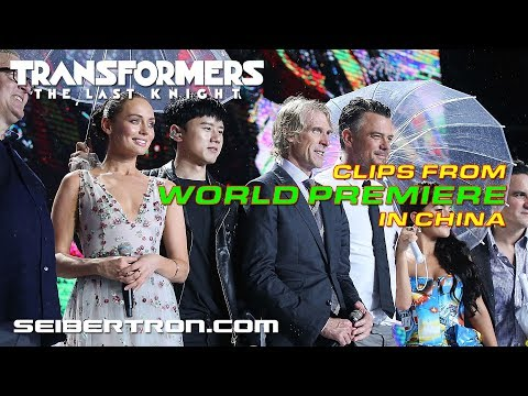 Transformers The Last Knight China World Premiere B-Roll Footage