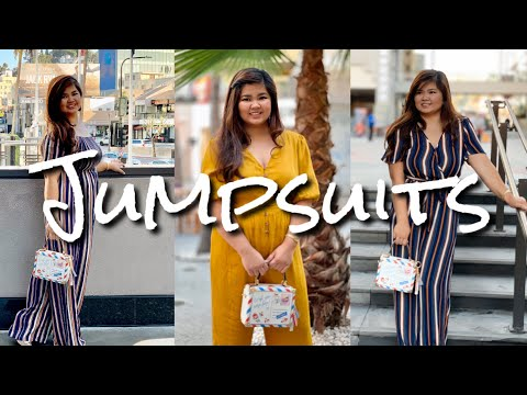 Chubby Girls Outfit Ideas| Jumpsuits Ideas| Chamie Chumz