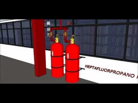 Proyectos con sketshup.. Protección contra incendio thumbnail