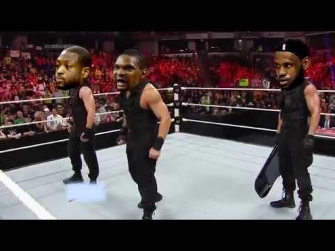LeBron James turns on the Miami Heat (WWE Style)