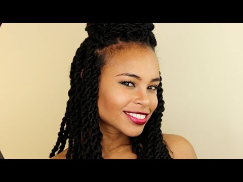 easy senegalese twists hairstyles