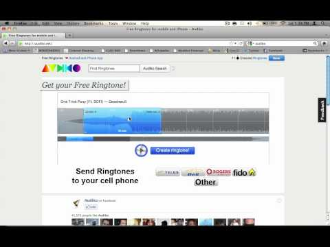 upload ringtones to you iphone