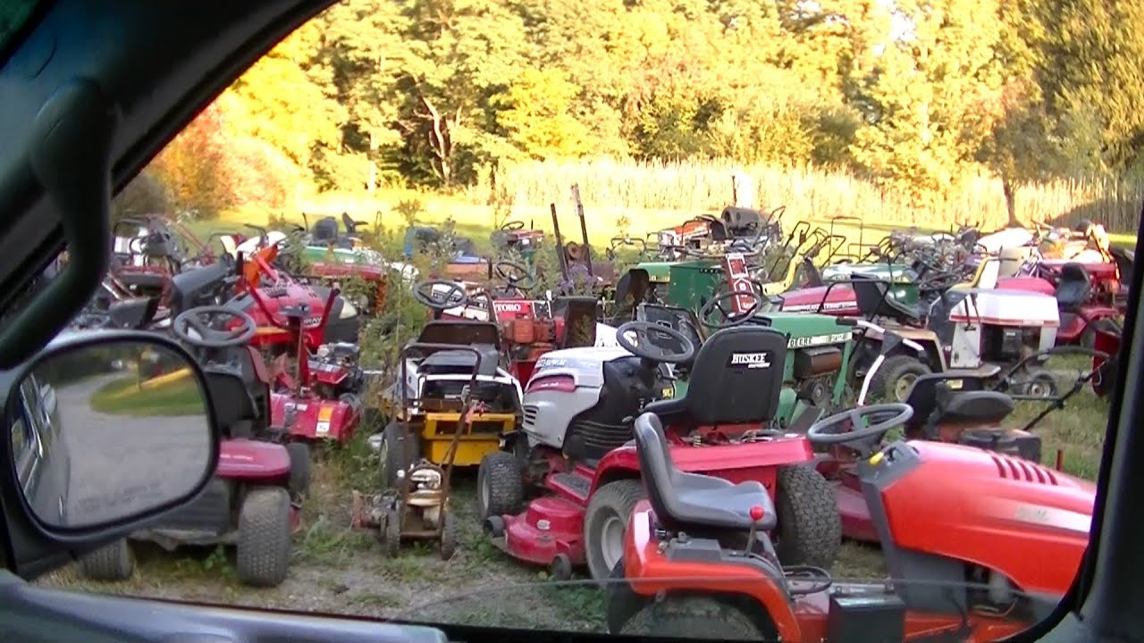 Lawn Mower Racing >> Lawn Mower Heaven and The Racing Mower - YouTube
