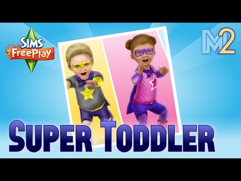 Sims FreePlay - Super Toddler Quest (Tutorial & Walkthrough)