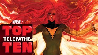 Top 10 Telepaths -- Marvel Top 10