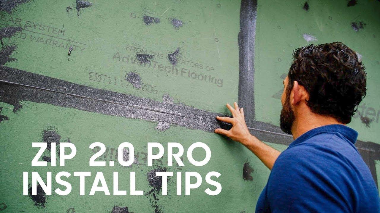 Zip System Pro Tips Incl Liquid Flash R Build