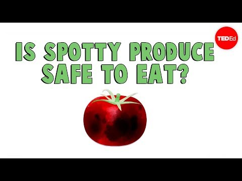 Video image: Are spotty fruits and vegetables safe to eat? - Elizabeth Brauer
