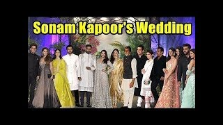 Sonam Kapoor Wedding Reception Video With Bollywood Celebs   Full HD Uncut