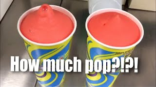 How much pop is actually in a 7-Eleven Slurpee?